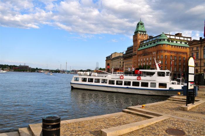 Stockholm båttur